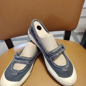 Womens Size 9 Denim Mary Janes
